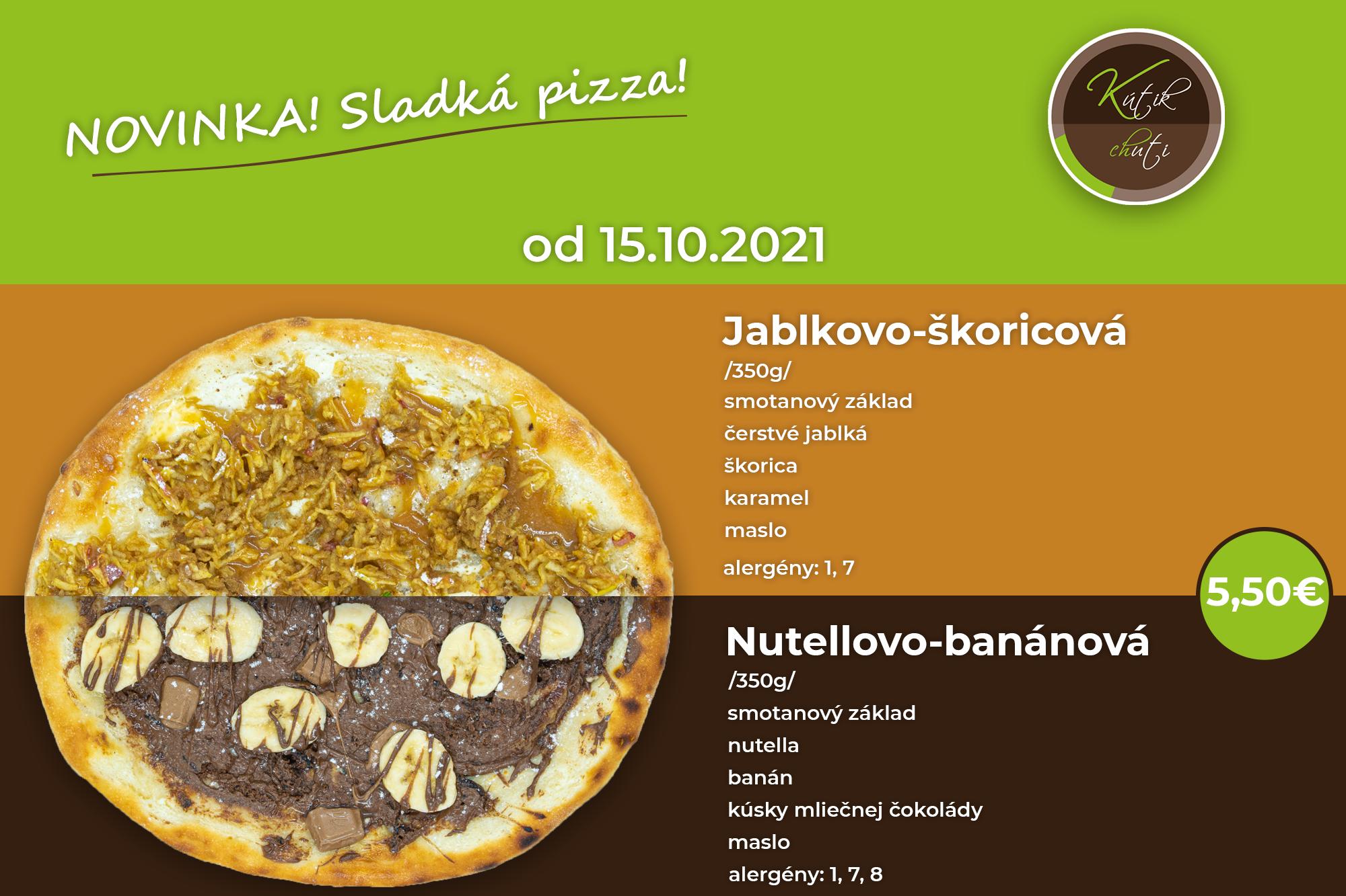 Sladká pizza